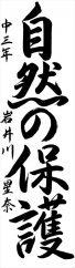 秋田県南地区連合会会長賞 岩井川 星奈